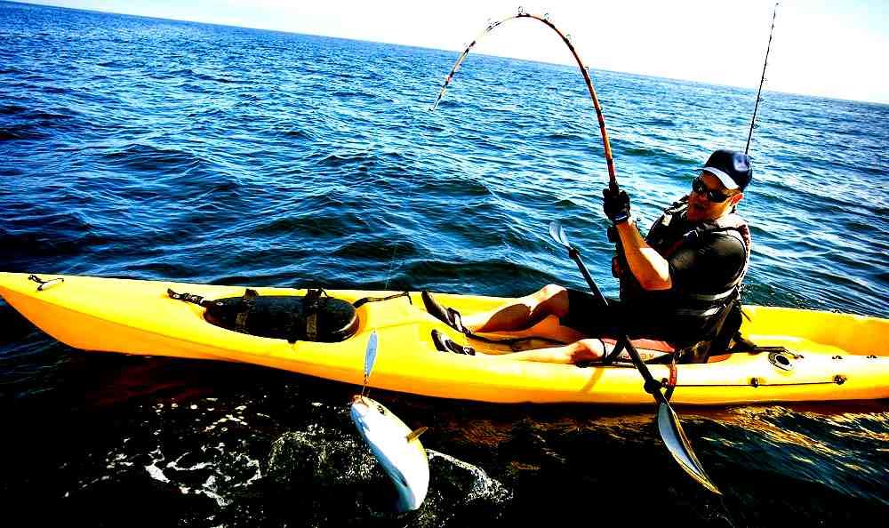 kayak fishing prede