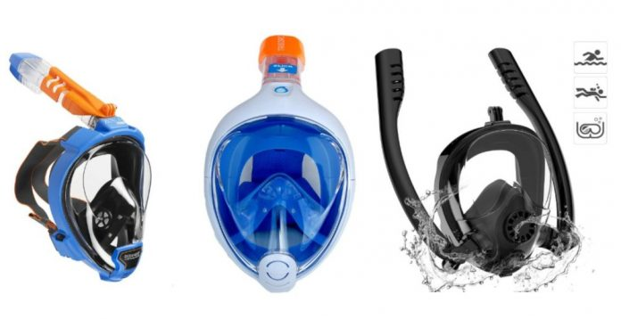 recensione migliori maschere per respirare sott'acqua