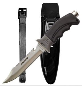 Coltello subacqueo Cressi Borg Knife