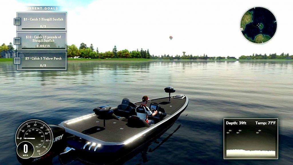 Barco de pesca Rapala fishing pro series