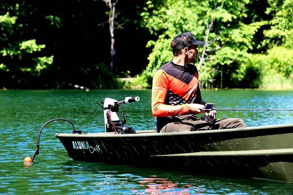 kayak da pesca accessori