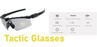 recensione tactic glasses