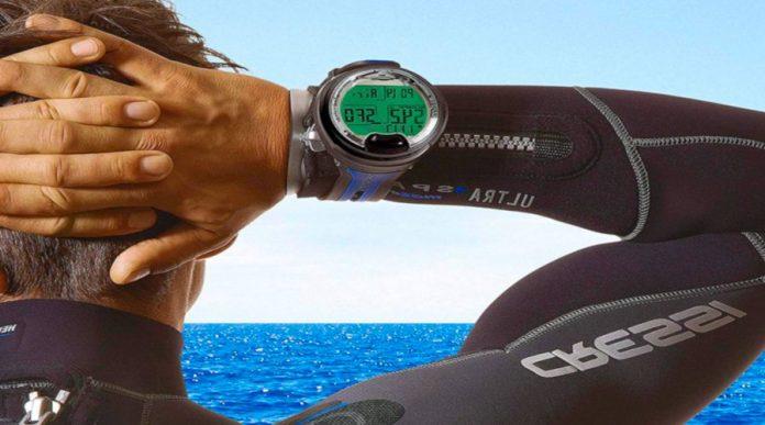orologio con profondimetro