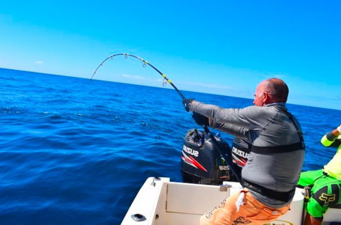 pesca a vertical jigging