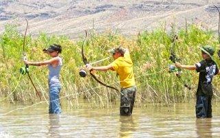 pescatori con arco